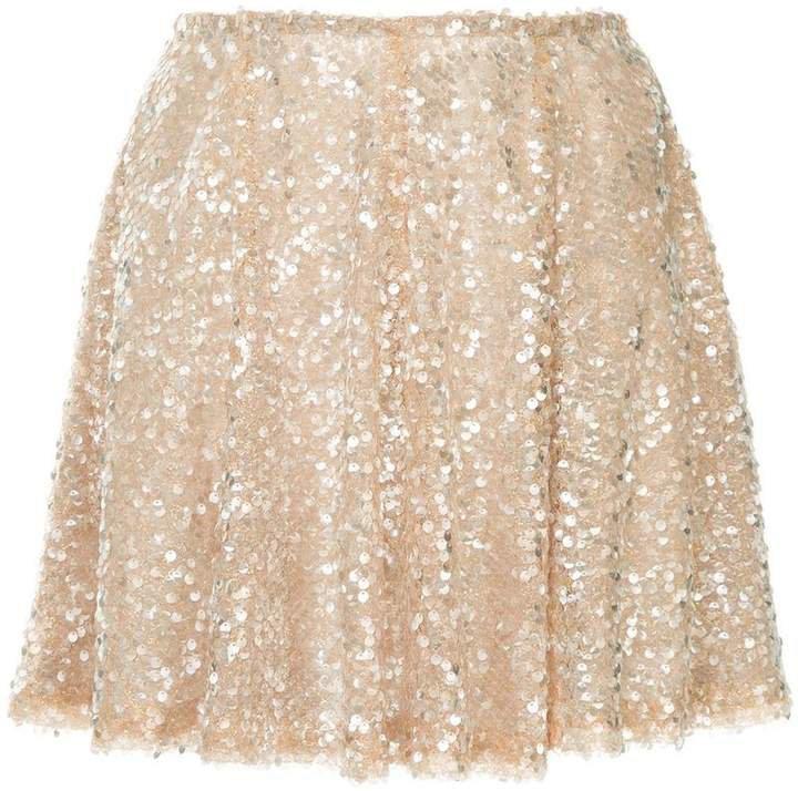 Walk Of Shame sequin embellished skirt