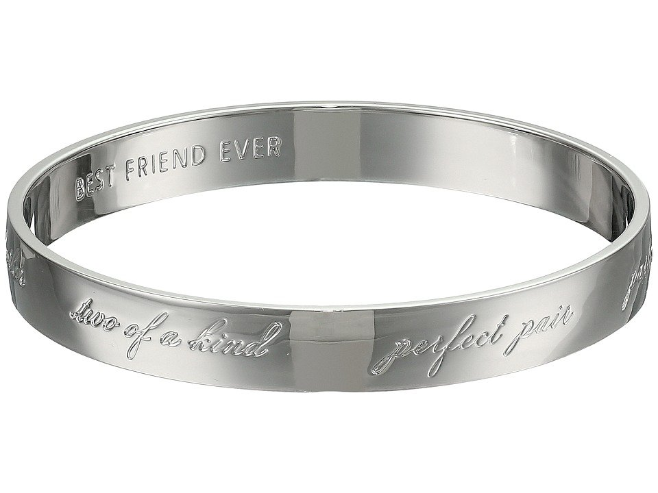 Kate Spade New York - Bridesmaids Idiom Bangle (Silver) Bracelet