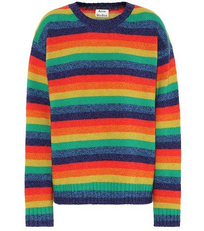 Samara striped wool sweater