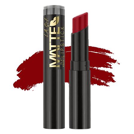 LA Girl Matte Flat Velvet Lipstick - Relentless | Makeup.co.nz